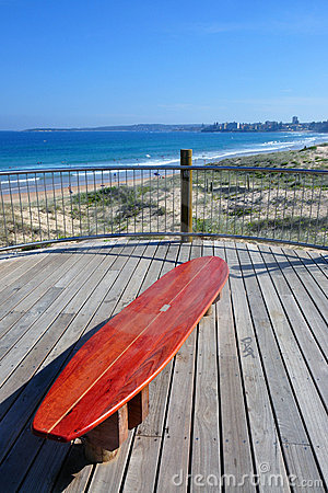 Cronulla surf bench