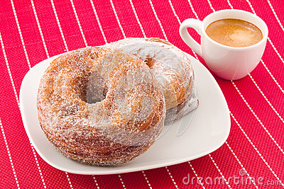 Cronuts and coffee