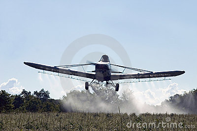 Crop Dusting Aircraft