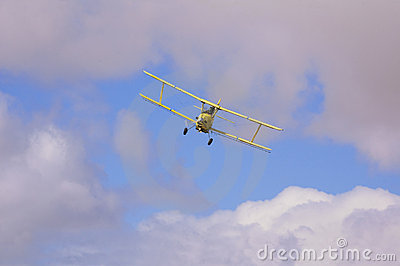 Crop spraying aircraft