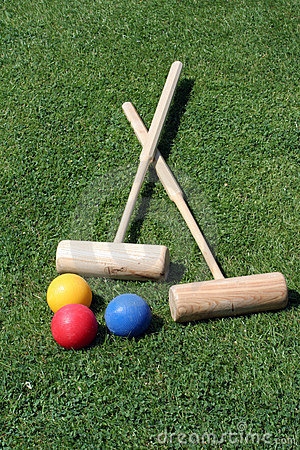 Free Croquet Equipment Stock Photography - 817482