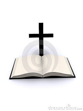 Free Cross And Bible Royalty Free Stock Image - 4053416