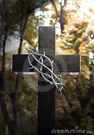 Free Cross And Thorns Easter Royalty Free Stock Photo - 21129335