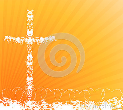 Free Cross Background Royalty Free Stock Image - 50111756