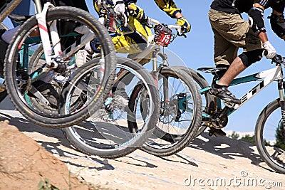 Cross Bike Racing Editorial Photography