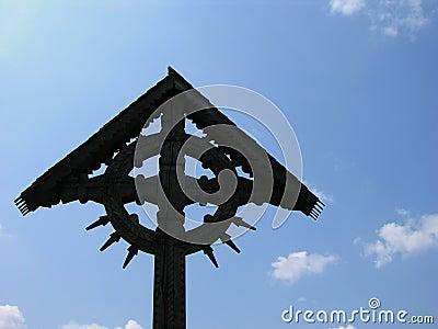 Cross On A Blue Sky
