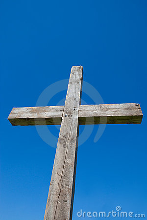Cross with Blue Sky