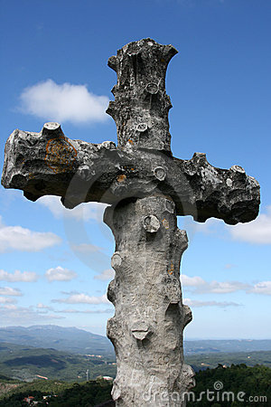 The cross in Bussaco forest