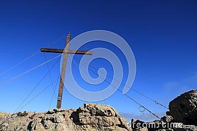 Cross at Capu di a Veta, Calvi