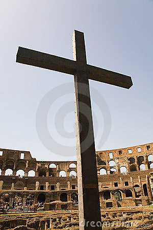 Cross in the Coliseum
