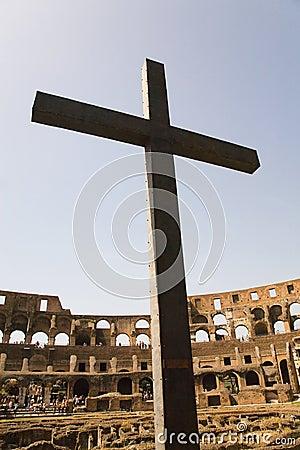 Cross in the Coliseum