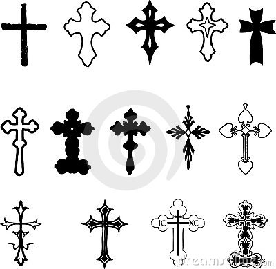 Free Cross Collection Royalty Free Stock Photo - 15249535