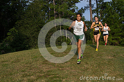 Cross Country Editorial Stock Photo