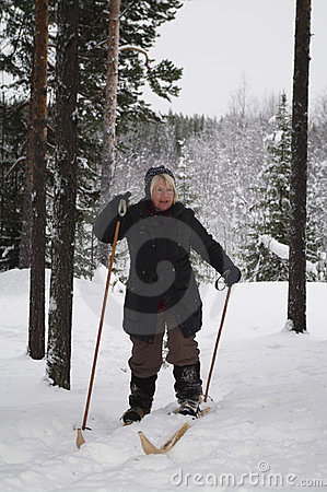 Cross-country skiing, Sweden