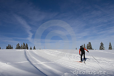 Cross-country skiing in Switzerland