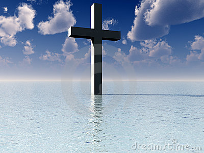 The Cross In Daytime Water 7