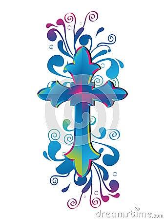 Free Cross Decorative Stock Image - 21535131