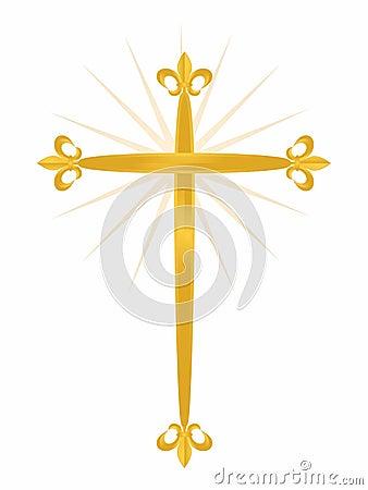 Cross Fleur