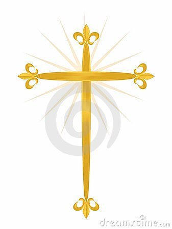 Free Cross Fleur Royalty Free Stock Photography - 22020657