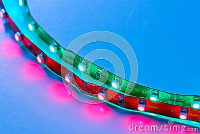 Cross frame LED Lighting