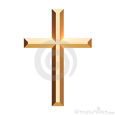 Free Cross Gold Royalty Free Stock Photos - 4054198