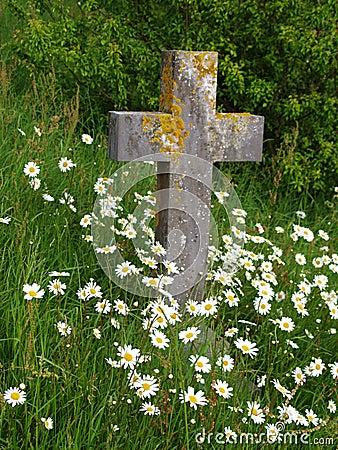 Free Cross Gravestone Stock Photos - 5263903