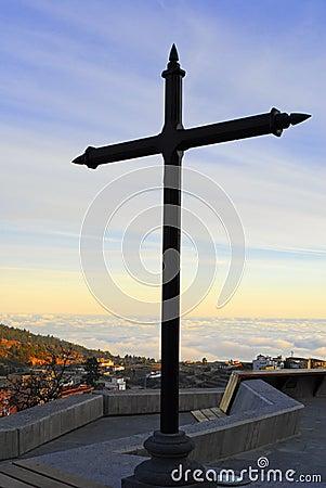 Cross in the heaven