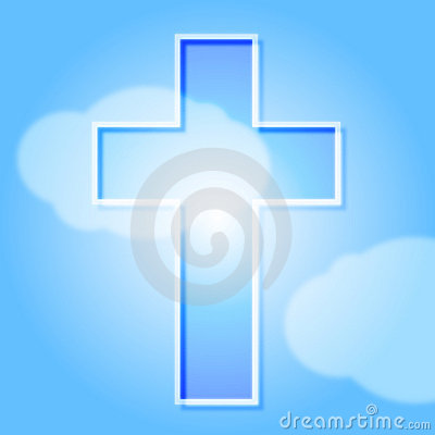 Cross and heaven