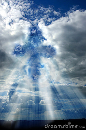 Free Cross In The Heaven Royalty Free Stock Images - 135599