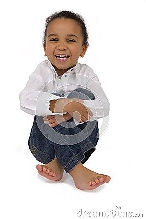 Cross Legged & Laughing