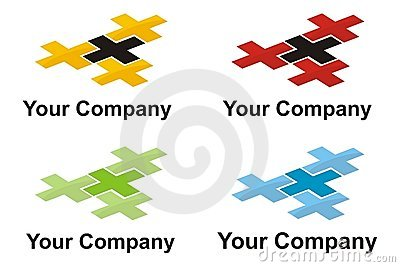 Cross logo element