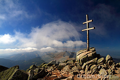 Cross in the Low Tatras