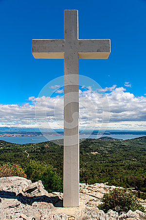 Cross outdoors