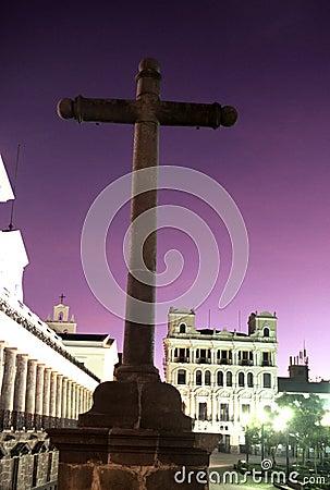 Cross- Quito, Ecuador