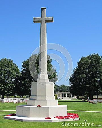 Cross of Sacrifice, Bayeux, France