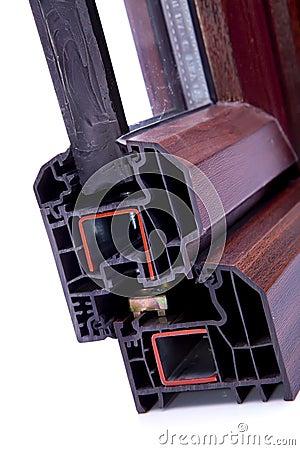 Cross Section PVC Window