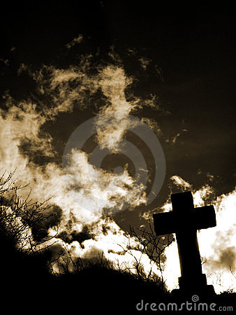 Free Cross Silhouette Royalty Free Stock Photography - 4603717