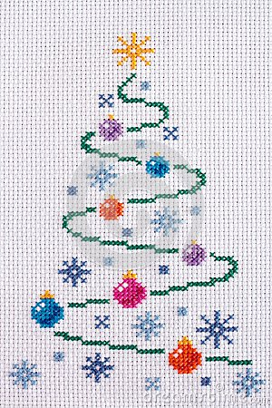 Cross stitch Stock Image Image 34463171