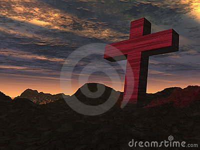 Cross stone