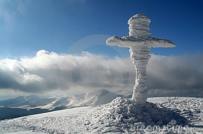 Cross on the summit