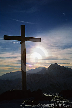 Free Cross Summit Mountain Royalty Free Stock Images - 1885149