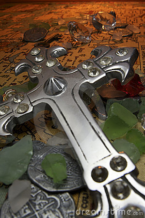 Free Cross Treasure Royalty Free Stock Photos - 11555268