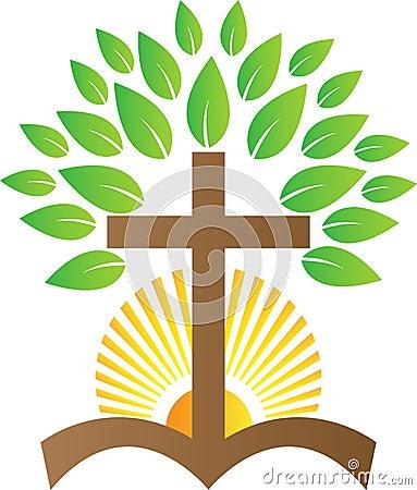 Free Cross Tree Sunrise Stock Photos - 36963703
