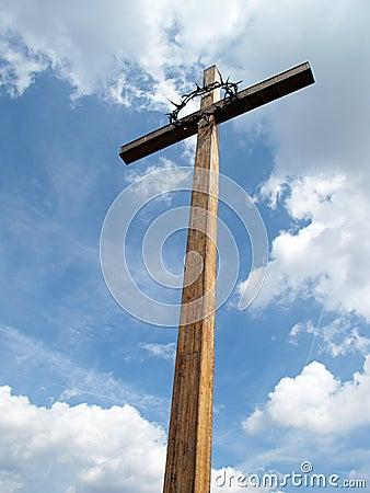 Cross under blue heaven
