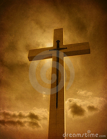 Free Cross With Sword Royalty Free Stock Image - 7057146