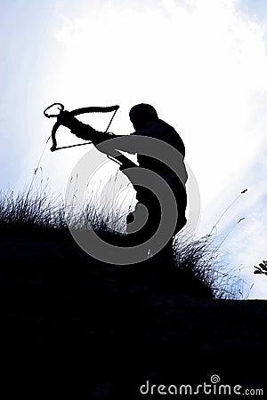 Free Crossbow Hunter Royalty Free Stock Photo - 214375