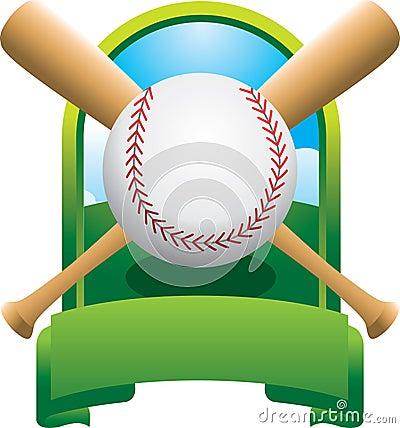 Free Crossed Bat Baseball Championship Stock Photography - 8993612