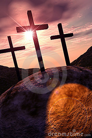 Free Crosses On Golgotha Royalty Free Stock Photos - 531508