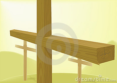 Crosses wooden