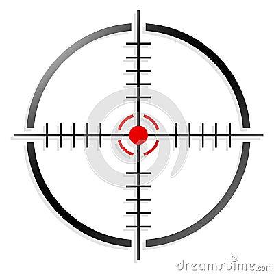 Free Crosshair, Reticle Stock Image - 43112711